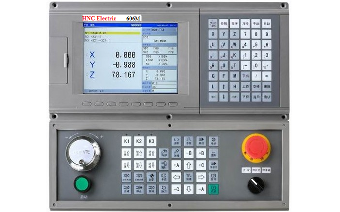 606M CNC controller for Milling Machine