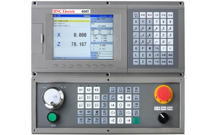 606T CNC controller for Turnning Machine